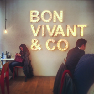 Bon Vivant Mondays at work