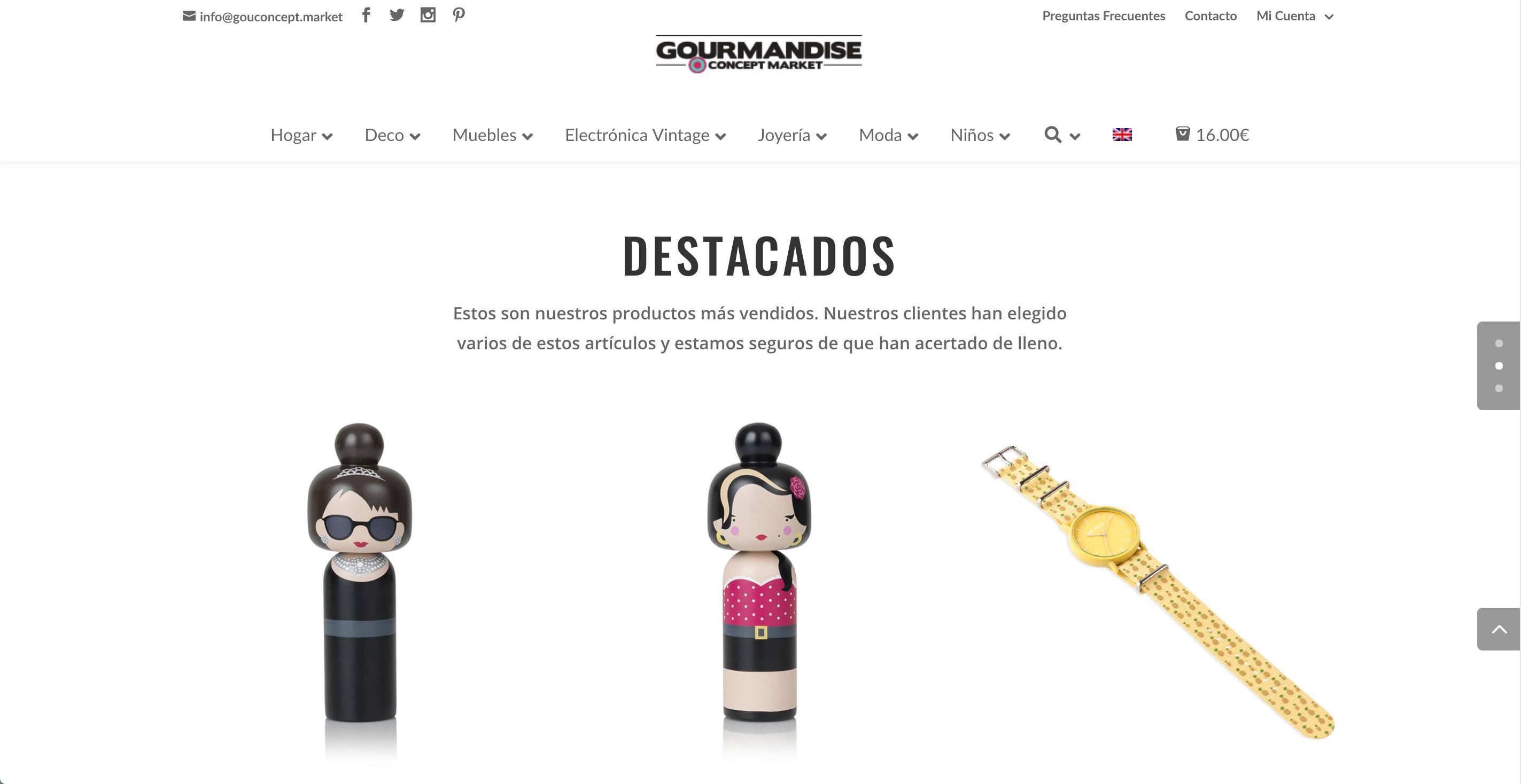 Gourmandise Concept Market